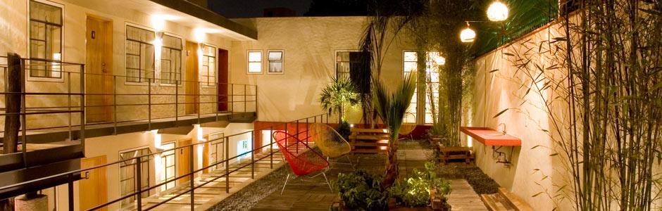 Roof Garden VeXindad AlpiNa Student Housing Mexico City